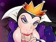 Snow White Queen Blowjob