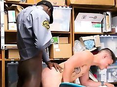 Naked hairy men police officers mfc chasi Petty Theft.