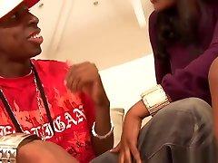 Ebony Nyomi Enjoys Having Her Pussy Filled With Cum