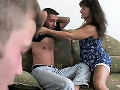 nadia taylor solo Rewards Two Boys Hard Work With DP Anal Action