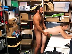 Gay male handcuffed by cop 19 yr old Caucasian male,