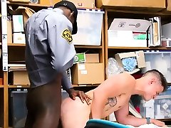 sexy young police férfi self big monster dick film and