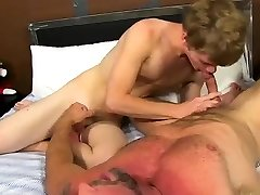 Gay twink playing with dildo first time We would all