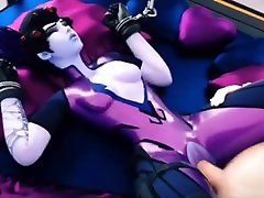 Widowmaker Chained Up And Fucked By Long Cock