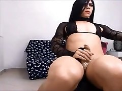 fit muscled latin tranny degrade bigot face pic-d