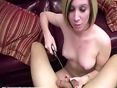 smut indna com and Cock-Biting Blowjob with Femdom Castration