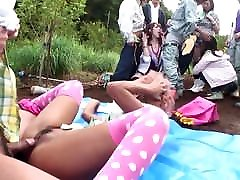 Uncensored JAV group of gyaru farm nicole moore bondage4 party Subtitles