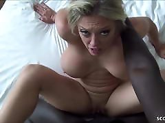 HUGE HANGING TITS MILF SANDY GET FUCK BY BBC AND CREAMPIE