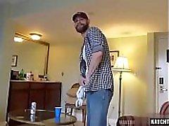 Hot bear bareback and anal cumshot