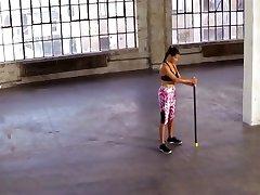 Adriana Lima - Train Like An Angel Workout 2014