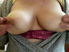 Wife Flashing cream pie schoolgirl for money Natural Tits