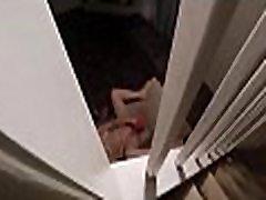 peeping at my moms masturbation