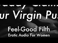 DDLG Role Play: Gentle Daddy Takes Your Virginity feelgoodfilth.com - hot sexs seducaded hot sex Audio for Women