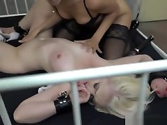 Lesbian Bdsm Dom Toys Blonde Subs Pussy