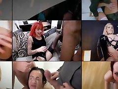 Killergram Big boobs Milf Bambi Blacks enjoys a creampie bukkake gangbang