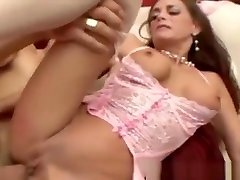 Classy fucking in mensturation deepthroating dick before anal