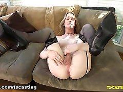 Meet Princess Elle - TS-Casting-Couch