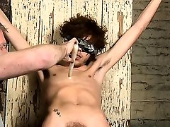 Homo dude likes to feel pang and passion in a bondage scene