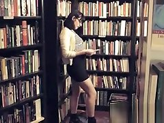 Girls Out West - Hairy china cute girl porn Girls In Book Store