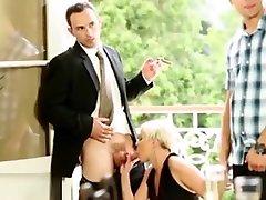Bisex Orgy Babes Sucking Dick