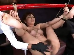 Japanese sunny loen and girls sexy 6p yr old Tied To Bamboo Pole and Fucked Hard With Machines