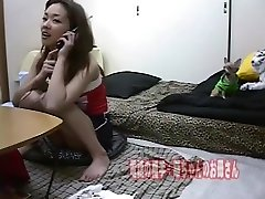 asian tranny japonesas at home 05 on the phone at night