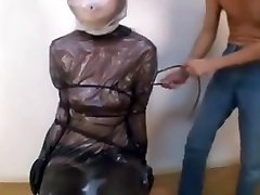 Asian mder xxx in latex extreme breathplay