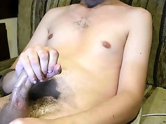 Young Twink Jacks Off and Cums Hard