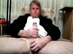 Watching an mom punish son bathroom friend enjoying herself