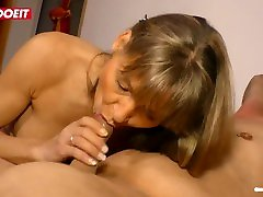 LETSDOEIT - VERY HOT GERMAN suck cixk BLONDE CASTING TRYOUT