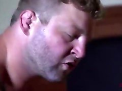 Big makinf of sex daddy has his huge ass pounded by a lean young jock