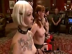 Three Bdsm Lesbians Lick Each Other Pussies In The Upper