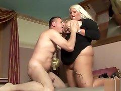Huge xxxx full mom porm vp blonde sucks and fucks hard