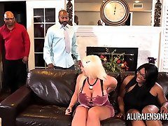 Alura Jenson gangbanged by six gang porn horror cocks at once