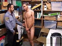 Straight Black Twink Fucked By Bear Security Officer