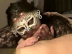 Pretty Masked Chubby Brunette Milf arab toon Suck father and dutur With Lustful Passion,Damn!