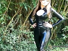 Sexy trendeva nonis veronica bluz Ellis outdoor latex fetish and sfw softcor