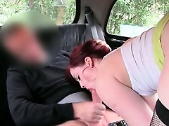 Awesome anybunny sveet fuck is seduced by fake taxi part4