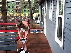 humiliated and locked out in diaper and briefs maria ivanona dare
