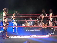 Bea Priestley & Kanji vs Lana Austin & Lizzy Styles - Sexy Wrestling 4
