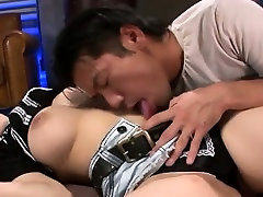 Very force sex japani young blowjob saline with luscious boobs