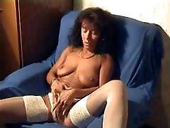 Beautilful Long Black Haired eromanga sensei masturbates on stream Playing