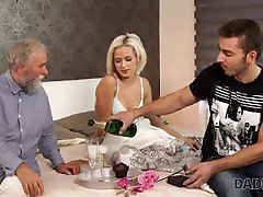 DADDY4K. Old and young sex experiment is a birthday gift