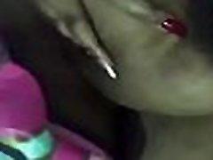Denia rubbing her sascha maryina tits