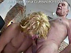 Young boy sucks grandpa&039s little cock and inserts dildo