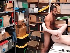 Straight Blonde Jock Thief Sex With Gay Bear Officer
