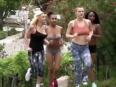 Amazing Interracial de beste vr Orgy