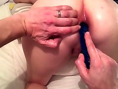 POV - MILF PAWG Anal and Oil Play