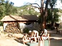 HARDCORE LESBIANS FORCE COUNTRY GIRL!!