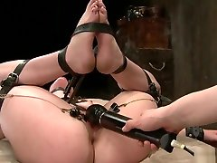 Bdsm, Mistress, Lesbian Domination, Gloves, Anal Insertion, Pussy Fingerin